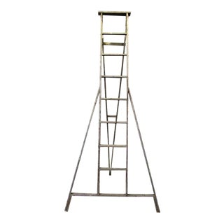 Painted Splattered Apple Ladder For Sale