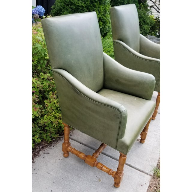 Rose Tarlow Rose Tarlow Melrose House Armchairs - a Pair For Sale - Image 4 of 10