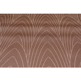 Neutral Geometric Leaves Wallcovering For Sale