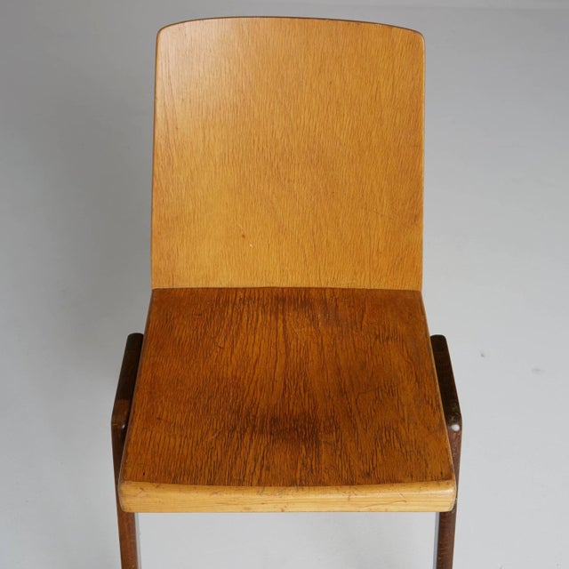Thonet Wood Stacking Chairs - A Pair For Sale In Los Angeles - Image 6 of 10