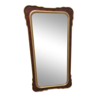 Decorative Hollywood Regency Gold Hanging Wall Mirror