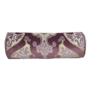 Designers Guild Bolster Pillow - Lilac, Mauve, Beige