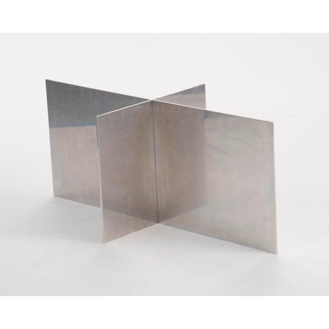 Habitat Paul Mayen Habitat Aluminum Coffee Table For Sale - Image 4 of 12