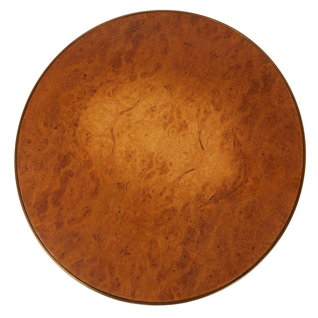 Contemporary Nevaeh End Table, Natural Oak Burl For Sale - Image 3 of 5