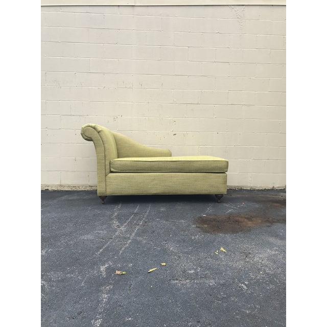 Mid-Century Modern Mid Century Modern Bright Green Canvas Fainting Chairs - a Pair For Sale - Image 3 of 9