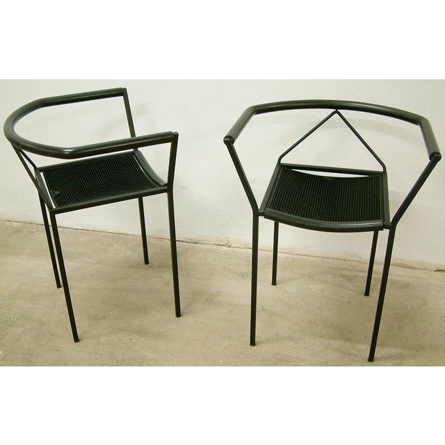 Maurizio Peregalli Zeus Chairs and Stool Set - 3 Pc. - Image 5 of 11