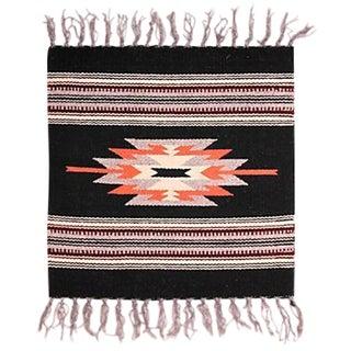 Chimayo Weaving - 1′3″ × 1′8″ For Sale