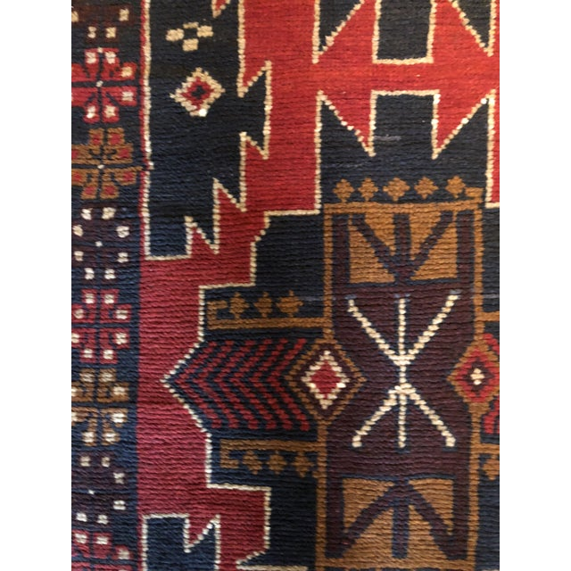 """Islamic Persian Tribal Baluch Kazak Runner Rug - 2'5"""" x 9'6"""" For Sale - Image 3 of 6"""