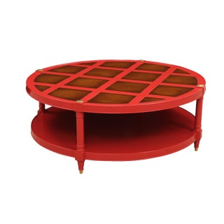 Red Heritage Coffee Table For Sale