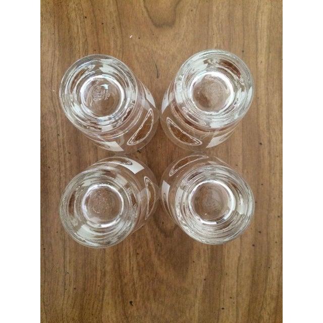 Mid-Century Medallion Shot Glasses- Set of 4 - Image 4 of 5