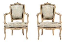 Image of Louis XIV Accent Chairs