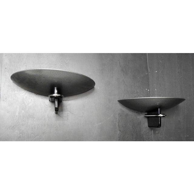 Walter Prosper Modernistic Deco Design Sconces - a Pair - Image 2 of 4
