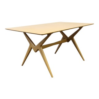 "Lorenzo ""Renzo"" Rutili for Johnson Furniture Mid Century Modern Dining Table"