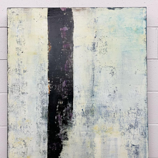 """2010s Original Oil Painting Titled, """"Winter Prolepsis,"""" by Marceau Verdiere For Sale - Image 5 of 10"""