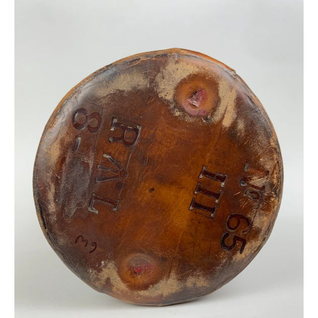 Early 19th Century Leather Ammunition Bucket For Sale - Image 11 of 13