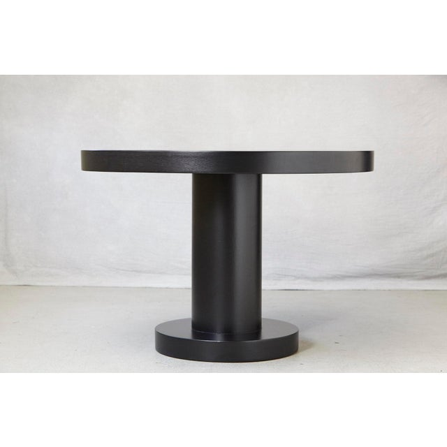 Modern, timeless oak center table in a new black satin finish. A pure and minimalistic appearance, a very solid quality...