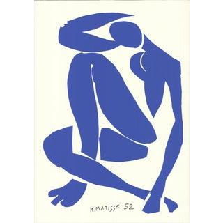 1989 Henri Matisse 'Blue Nude Iv' Serigraph For Sale