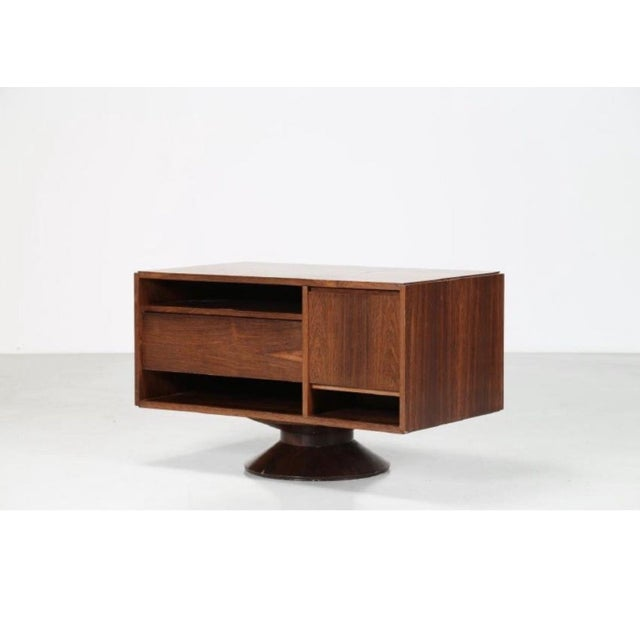Brown Gianfranco Frattini Furniture Bar for Bernini For Sale - Image 8 of 8