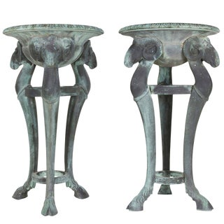 Bronze Planters or Urns