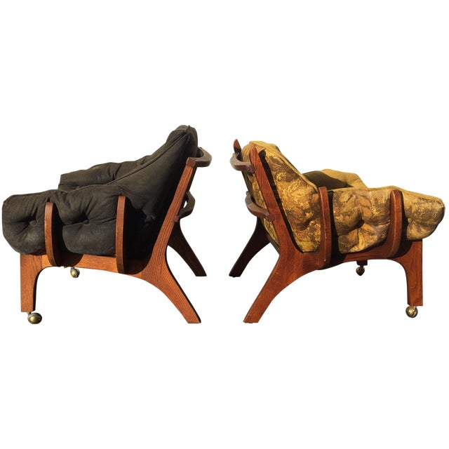 Sculptural Mid-Century Claw Chairs - A Pair - Image 1 of 10
