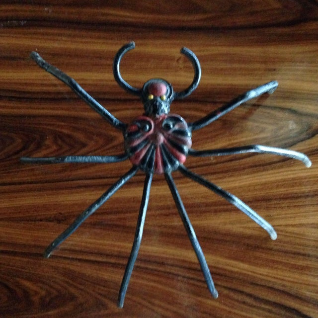 1940s Cast Iron Spider For Sale - Image 5 of 8