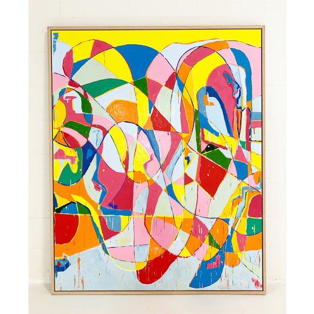 2010s John O'Hara. Ep, 2. Encaustic Painting For Sale - Image 5 of 5