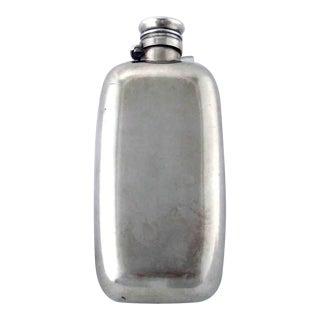 Antique Gorham Sterling Silver Liquor Drinks Flask For Sale