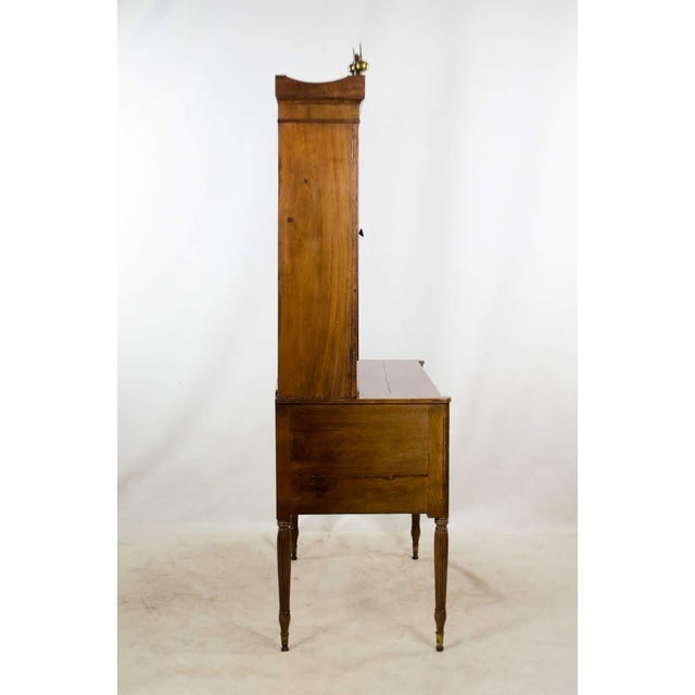 French Early 19th Century Antique Regency Secretary Desk For Sale - Image 3 of 13