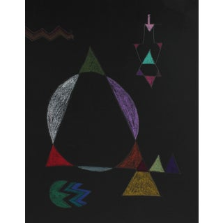 Michael DI Cosola Geometric Abstract in Pastel, ,1972 1972 For Sale
