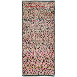 """Vintage Persian Gabbeh Rug – Size: 2' 2"""" X 4'10"""" For Sale"""
