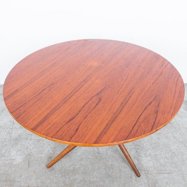 Wood Mid-Century Modern Jurg Bally Adjustable Wooden Table For Sale - Image 7 of 9