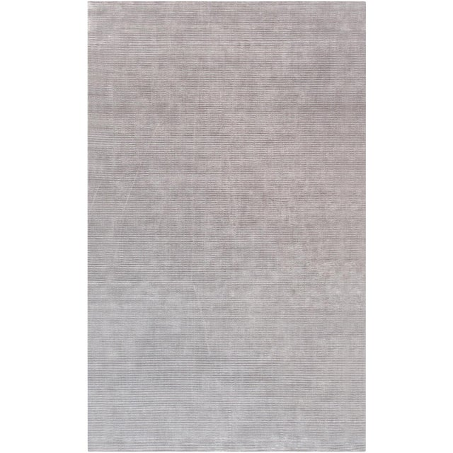 Pasargad Bamboo Silk Area Rug- 5′ × 8′ For Sale