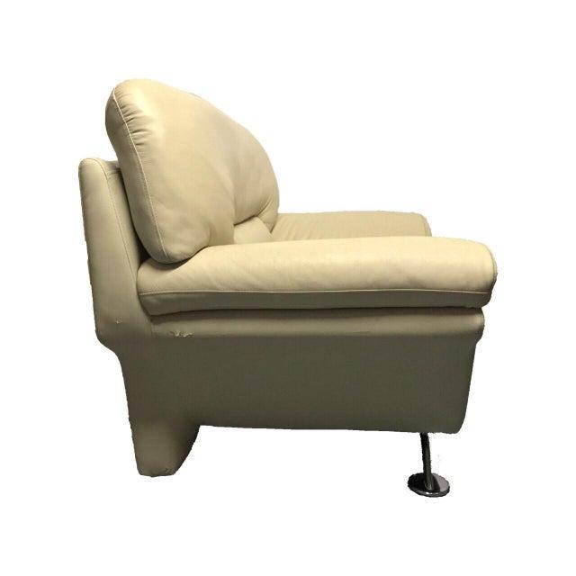 Naugahyde Atomic Club Chair - Image 8 of 10