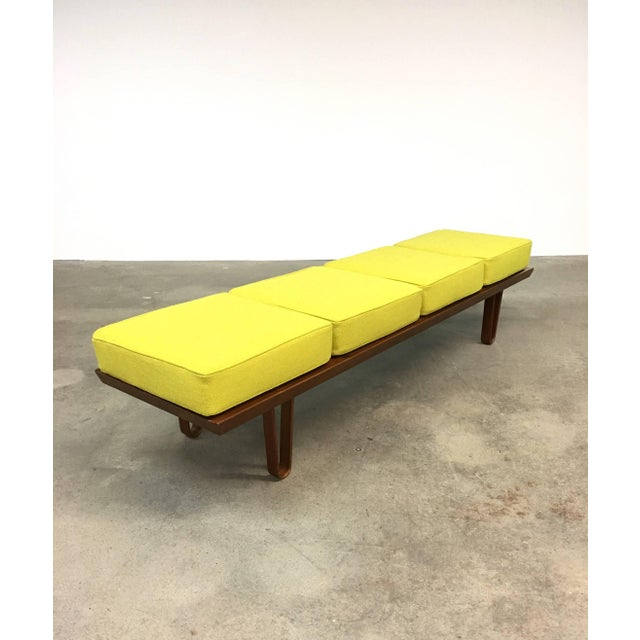 "Early Dunbar ""Long John"" bench, designed by Edward Wormley, circa 1954. Bench can also double as a low cocktail table...."