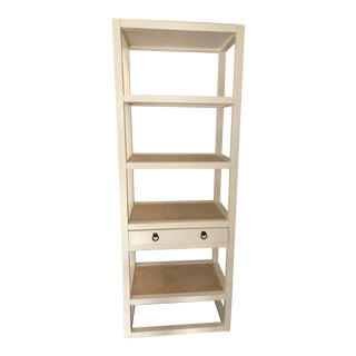 Bungalow 5 Tall White Bookshelf