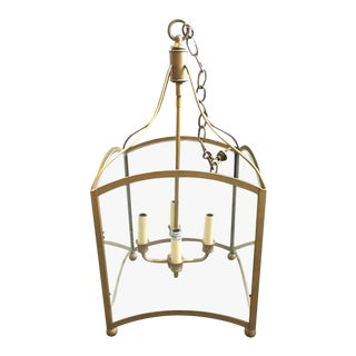 Used Piedmont Lantern by John Gantt in Antique Brass For Sale