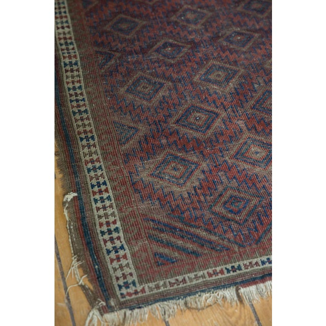 """Antique Belouch Rug - 2'5"""" X 3'9"""" For Sale In New York - Image 6 of 11"""
