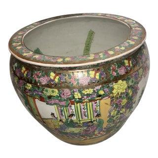 1970s Vintage Japanese Porcelain Planter For Sale