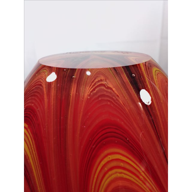 2008 Murano Art Glass Vase - Image 10 of 11