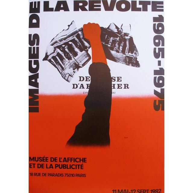 'Images de la Revolte 1965-1975' Poster For Sale