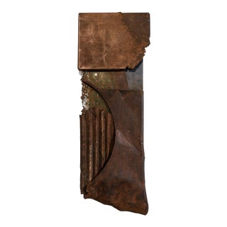 Contemporary Abstract Mixed Media Sculpture by Scott Gordon (Silk Road, 2018) For Sale