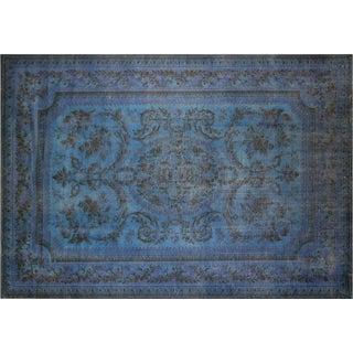 "1960s Overdyed Karastan Carpet - 11'7"" X 8'2"" For Sale"