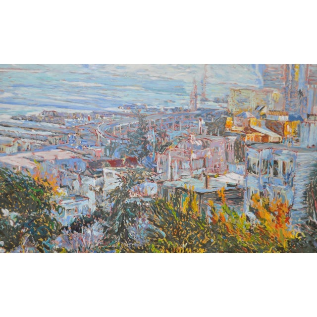 San Francisco from Telegraph Hill Serigraph by Marco Sassone - Image 3 of 6