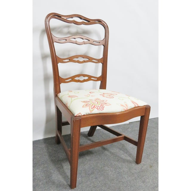 Chippendale Chippendale Saybolt & Cleland Ribbonback Mahogany Dining Chairs - Set of 6 For Sale - Image 3 of 10