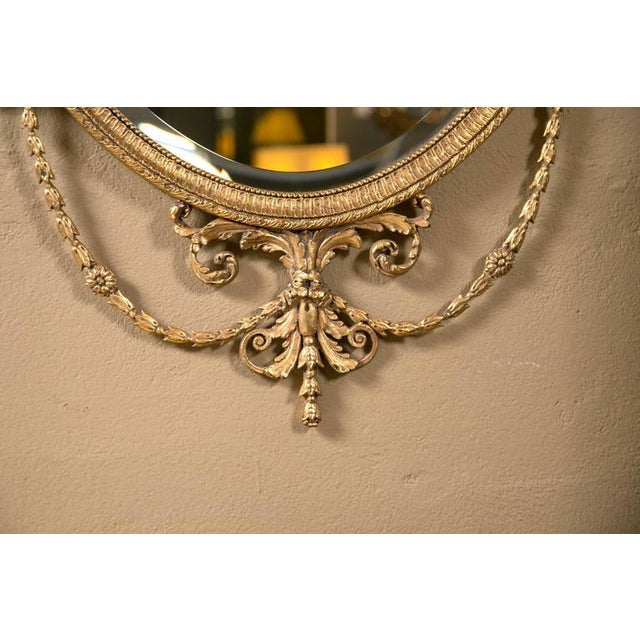Giltwood Adams Style Friedman Mirrors - Pair For Sale - Image 5 of 6