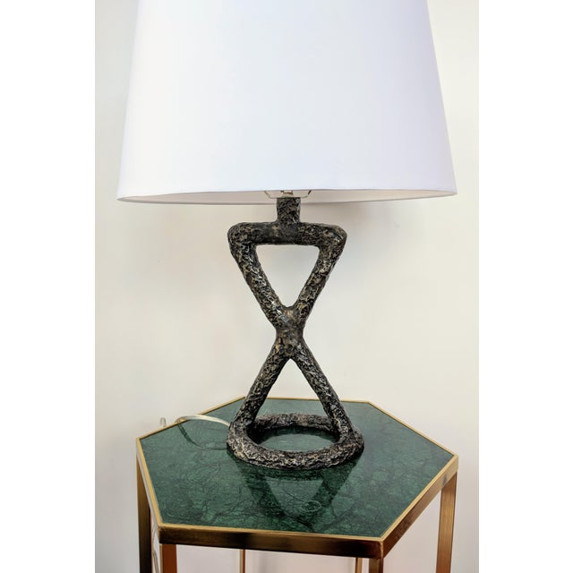 Contemporary Arteriors Home Packard Cast Iron Table Lamp For Sale - Image 3 of 12
