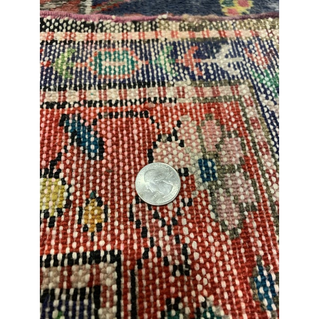 """Late 20th Century Traditional Turkish Wool Oushak Rug - 4'5"""" X 7'9"""" For Sale - Image 5 of 6"""