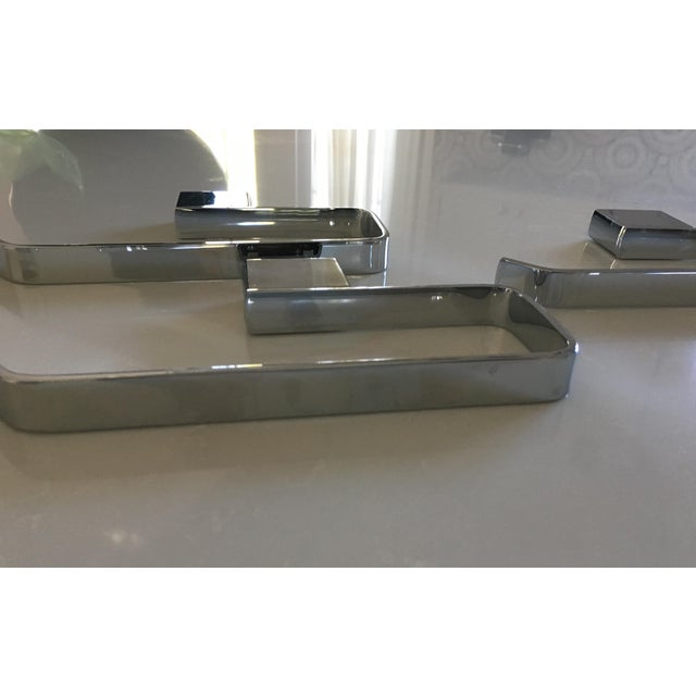 Rohl Modern Caswell Hand Towel Holders - Set of 4 - Image 5 of 8