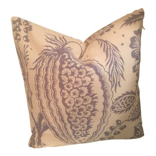 Manuel Canovas Pali Tropical Flower Pillows For Sale