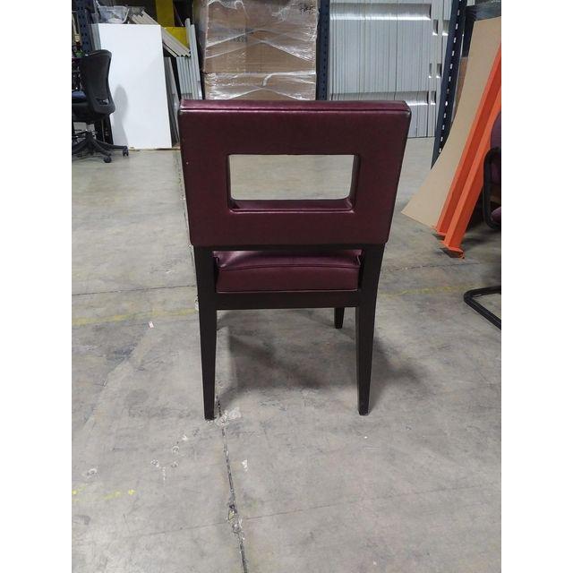 Eggplant Iridescent Dining Chair Chairish
